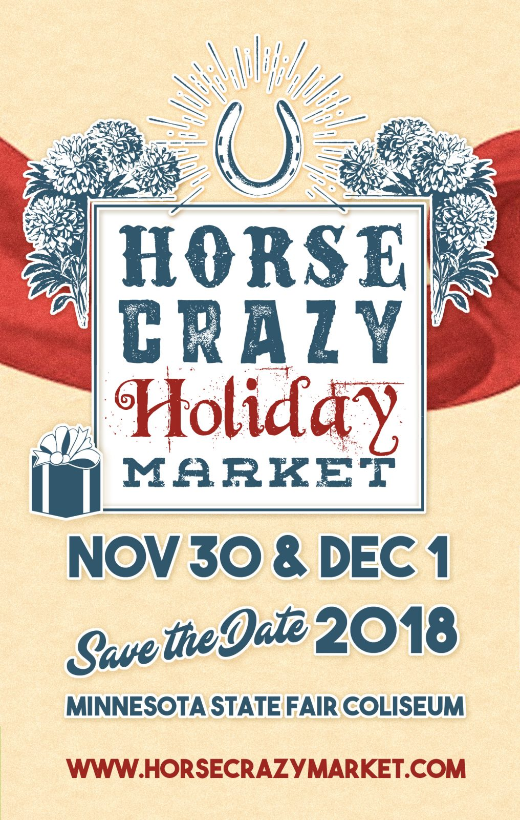 Meet Dusty at the Horse Crazy Holiday Market!